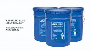 asphaltic plug